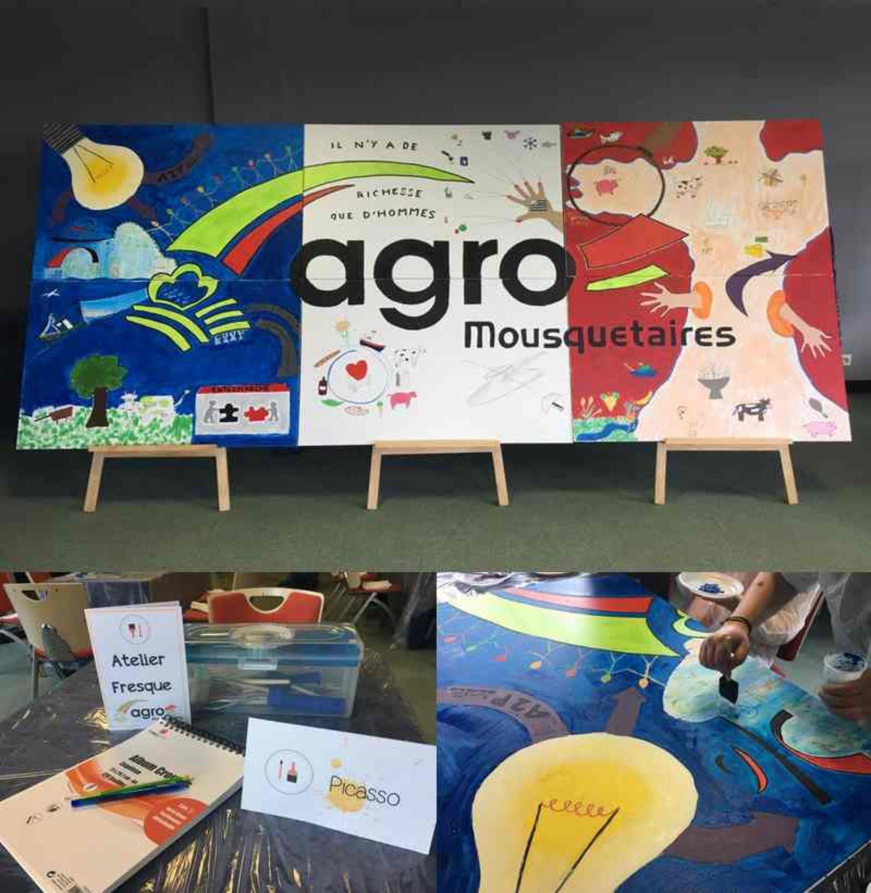 Se transformer en artiste avec notre Atelier Fresque !