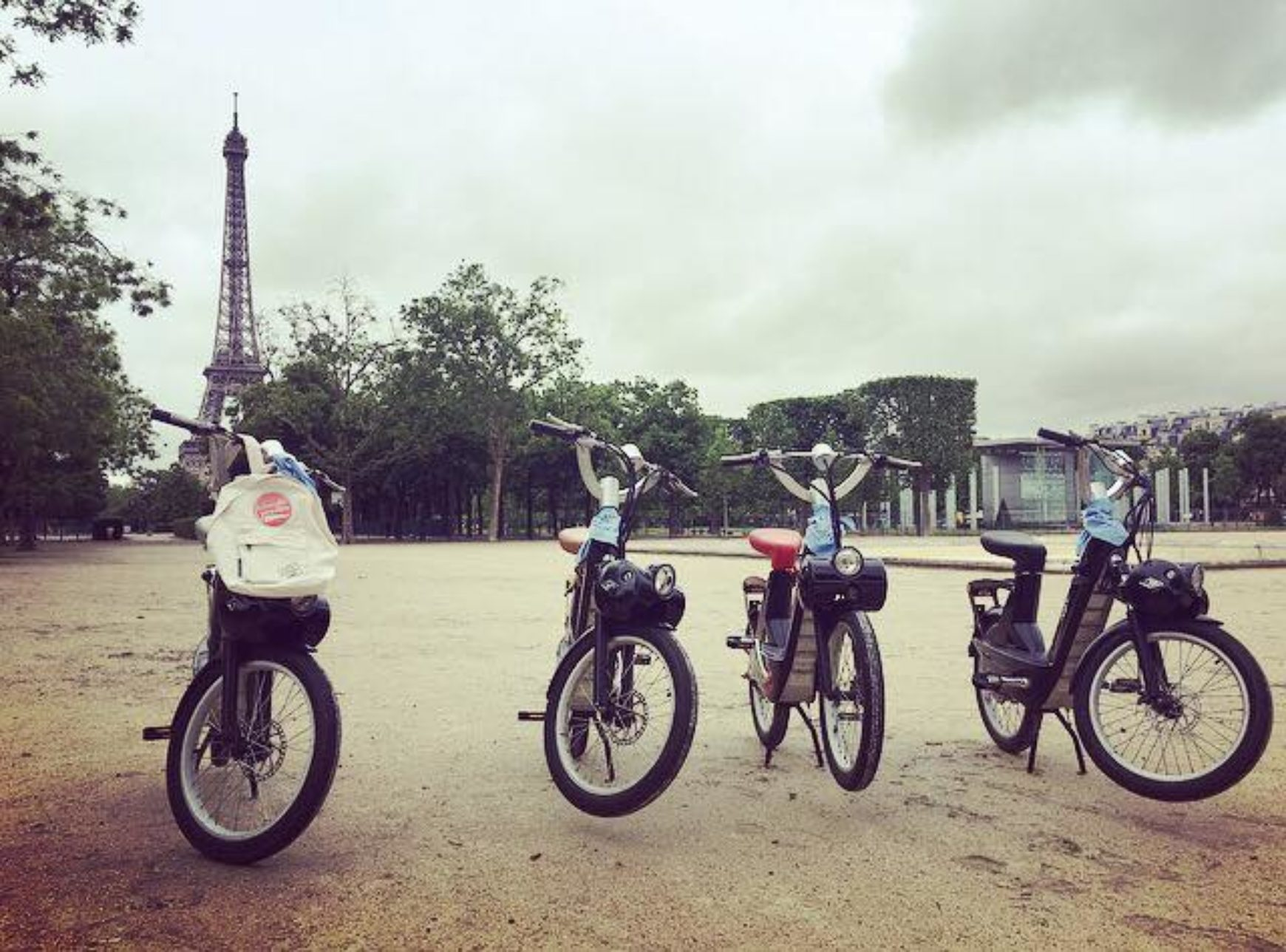 A Paris… en Solex !